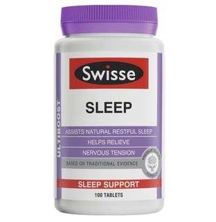 現貨澳洲 Swisse 天然草本助眠片 100粒 (促進睡眠/改善睡眠質量)