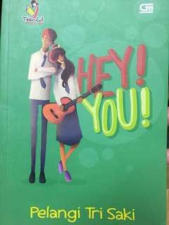 Novel Hey You by pelangi tri saki