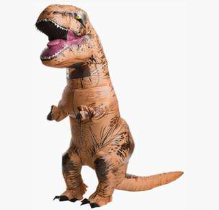 Inflatable T-Rex Dinosaur Costume (Adult size)