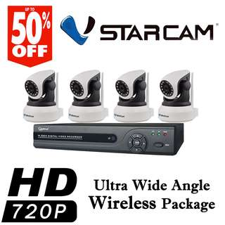 CCTVSG.NET Ultra Wide Angle Wireless Package