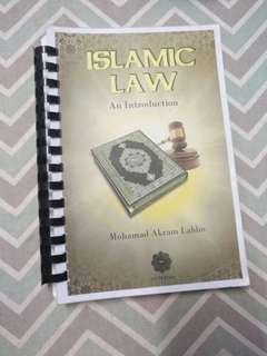 Islamic law book