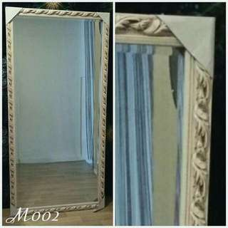White Large Wall Design Mirror