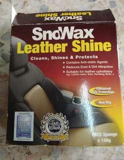 SnoWax Leather Shine