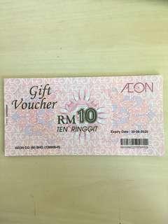Aeon voucher RM200