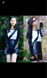 SALE Angela baby skirt metallic