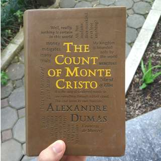 The Count of Monte Cristo (Unabridged), by Alexandre Dumas [LEATHER]