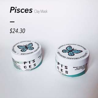Pisces clay mask