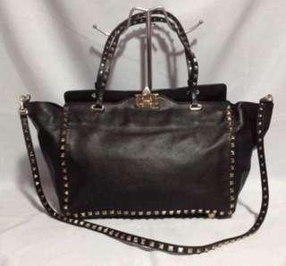 [REPRICED] Authentic Valentino Garavani Rockstud Two-way Handbag