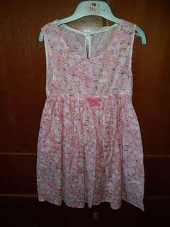 Dress Pink Sleeveless