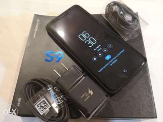 S9 midnight black 64gb