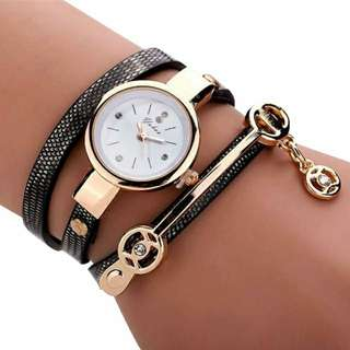 JAM TANGAN GELANG MURAH / KOREAN FASHION WOMEN BRACELET WATCH