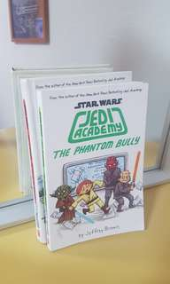 Star wars jedi academy comic book