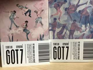 GOT7 Flight Log Departure Album 淨專