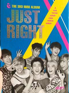 GOT7 Just Right Album淨專