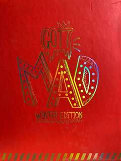 GOT7 MAD ALBUM Winter Edition