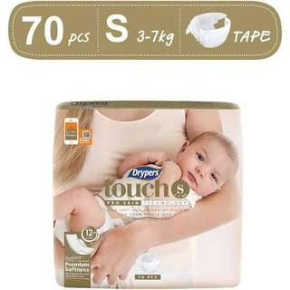 Drypers Touch S Diapers