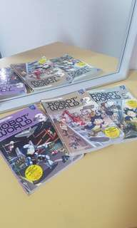 Robot world comic books 1-3