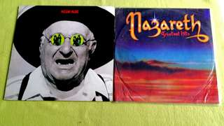 NUCLEAR VALDEZ . i am i ● NAZARETH.  greatest hits. ( buy 1 get 1 free ) vinyl record