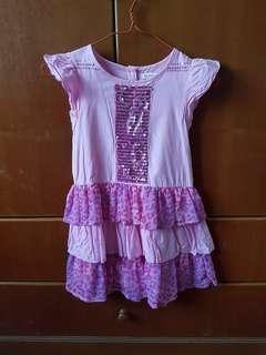 Girl Dress Sleeveless 5 yo