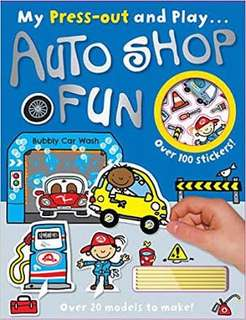 Press Out and Play Autoshop Fun