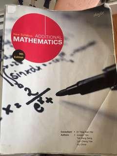 A maths text book with free workbook