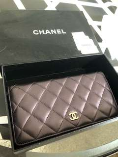 Chanel 長銀包wallet100%real