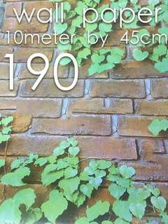 Bricks High quality wallpapers self adhesive tape