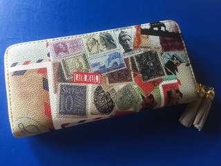 Dompet motif postal