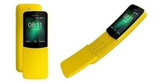 Nokia 8110 Handphone Pisang