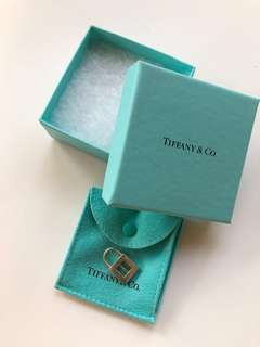 Tiffany & Co Sterling Silver Letter 'I' Charm