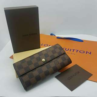 Louis Vuitton Long Wallet Damier
