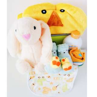 Honey Bunny Baby Gift Basket