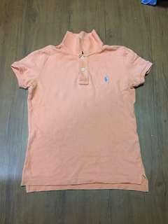 Authentic Ralp Lauren Peach Polo shirt