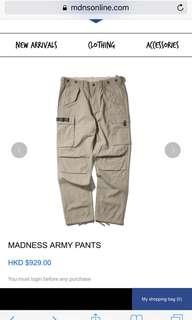 🚚 Madness 軍褲