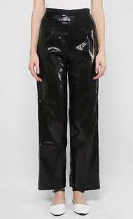 Aere Tilia Sequinned Pants in Black