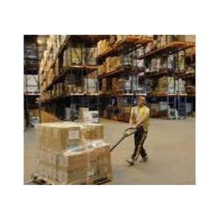 Temp Warehouse Packer