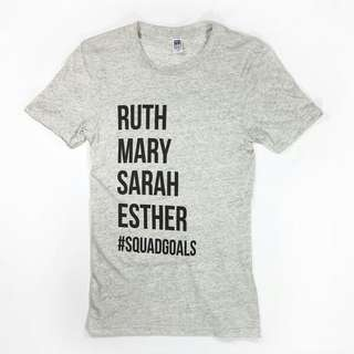 Ruth Mary Sarah Unisex Design Apparel Tshirt Tee