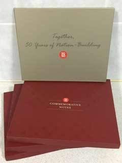 SG50 Commerative Box and Album