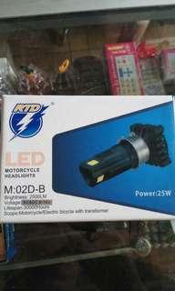 Lampu depan LED 3 sisi merk RTD ori