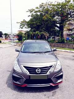 SAMBUNG BAYAR/CONTINUE LOAN  NISSAN ALMERA IMPUL AUTO 1.6 YEAR 2016 MONTHLY RM 760 BALANCE 7 YEARS + ROADTAX NEW MILEAGE LOW NISMO BODYKIT  TIPTOP CONDITION  DP KLIK wasap.my/60133524312/almera