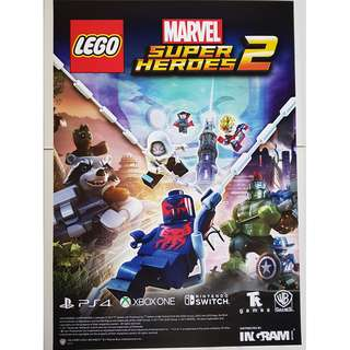 Lego Marvel Super Heroes A2 Size Poster