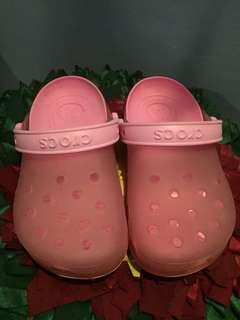 Kids Crocs Pink Clog
