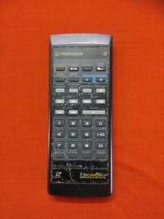 CD/CRV/LD player remote control