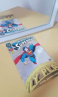 DC comics the adventures of superman 1993