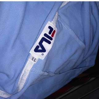 FILA Blue Dress Hoody
