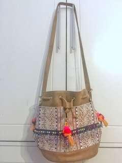 Never used Boho Bucket Bag