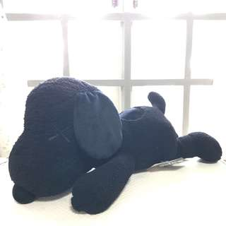 KAWS x PEANUTS 550mm Black Snoopy Toy