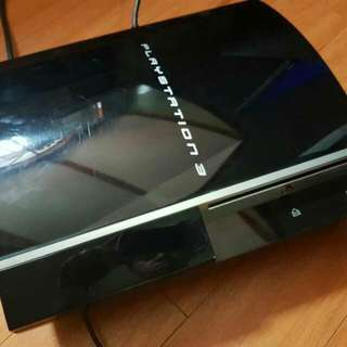 No HDD Faulty PS3 Fat  Playstation3 Fat Ylod