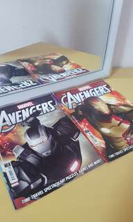 Avengers comic books #15 and #15