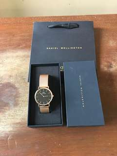 Daniel Wellington Rosegold Watch
